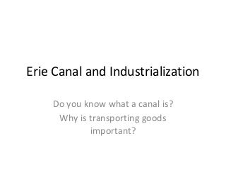Lesson plan 13 erie canal student