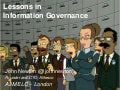 Lessons in Information Governance