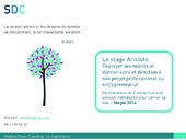 Les Stages Aristote 2014