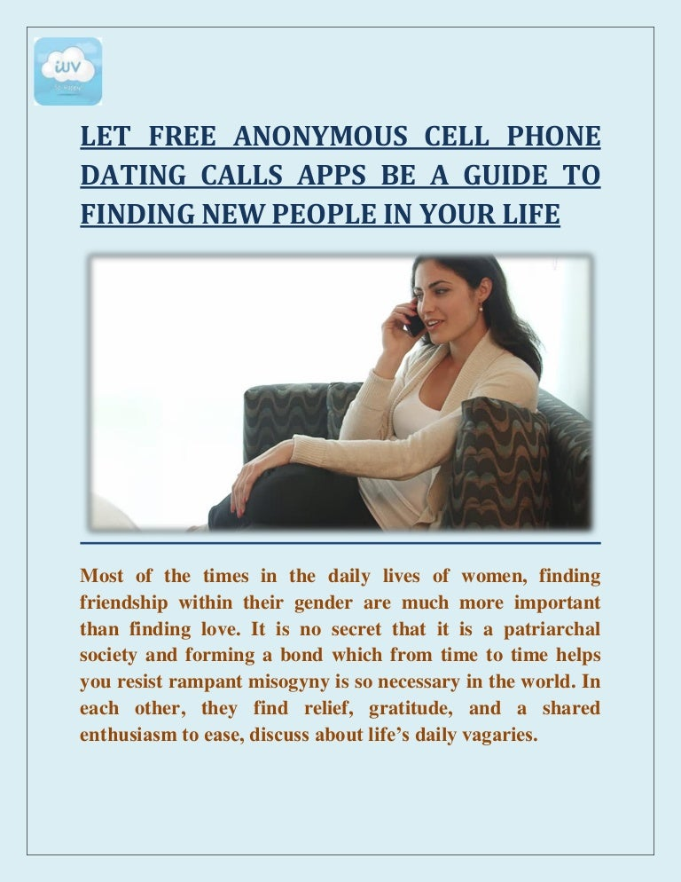 Dating with no cell phone