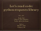 Let's read code: python-requests library