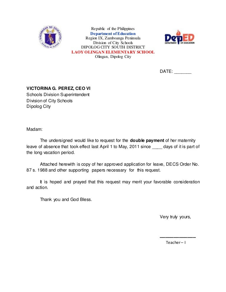 Education Grant Request Letter
