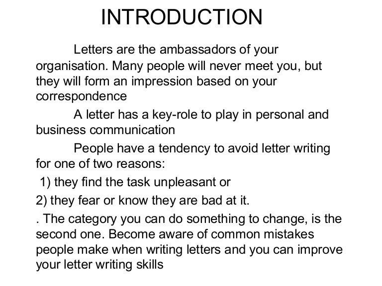 Letter drafting ppt 15 feb spiritdancerdesigns Choice Image