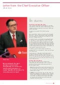 Santander Bank Annual Report 2011 Letter from Chief Executive Officer, Alfredo Sáenz