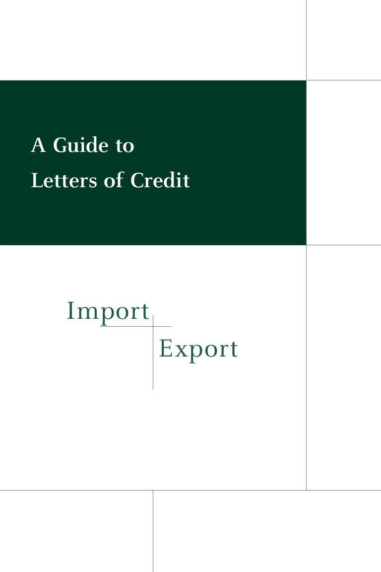 Letter Of Credit Loc