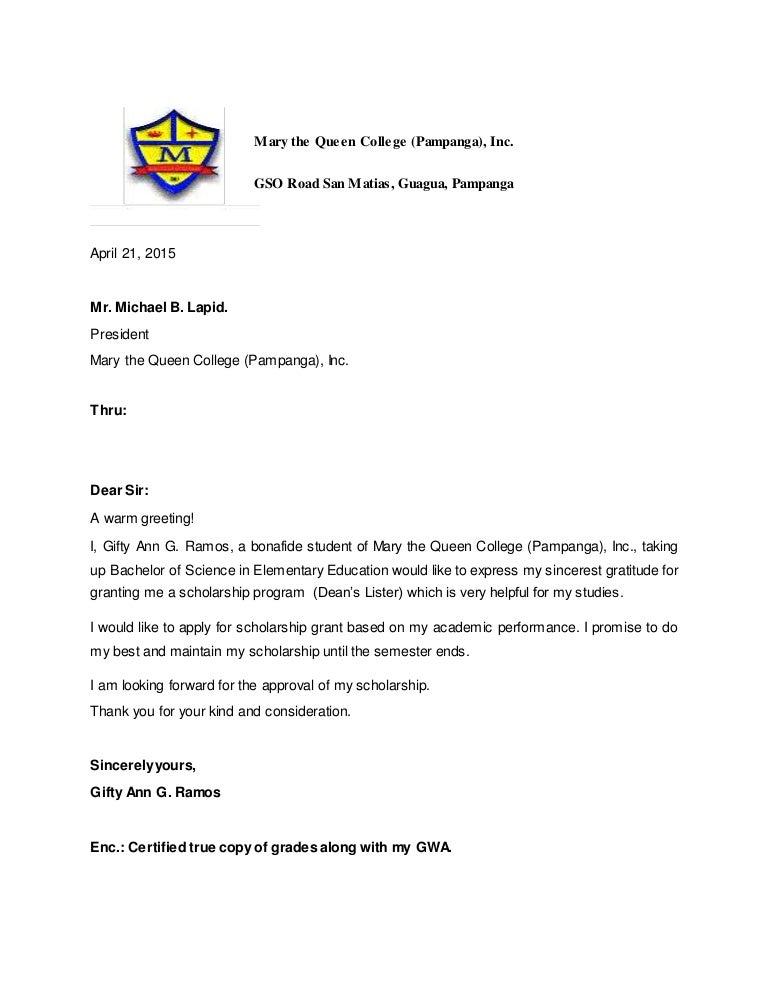 Letter Of Intent