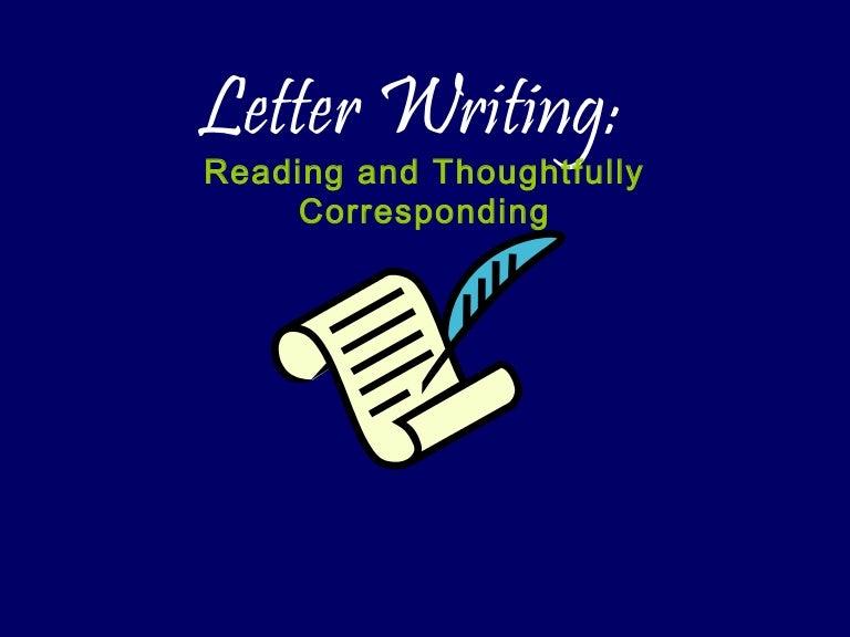Letterwriting ppt stopboris Choice Image