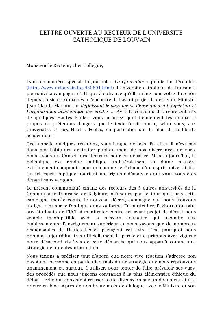 exemple de lettre ouverte dans un journal Exemple De Lettre Ouverte   passieophetplatteland exemple de lettre ouverte dans un journal