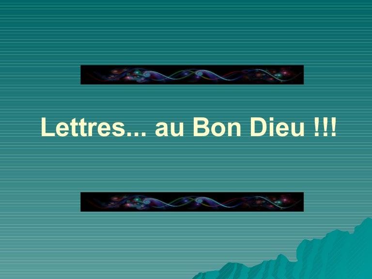 Lettres au bon dieu - Dieu nordique 4 lettres ...