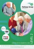 Level 2 Certificate in Dementia Care