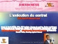 L'exécution du contrat - Cours de droit - sur www.SuperProfesseur.com by Ronald Tintin and Ronning Against Cancer