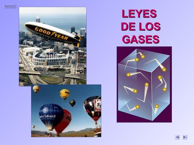 Leyes gases 1