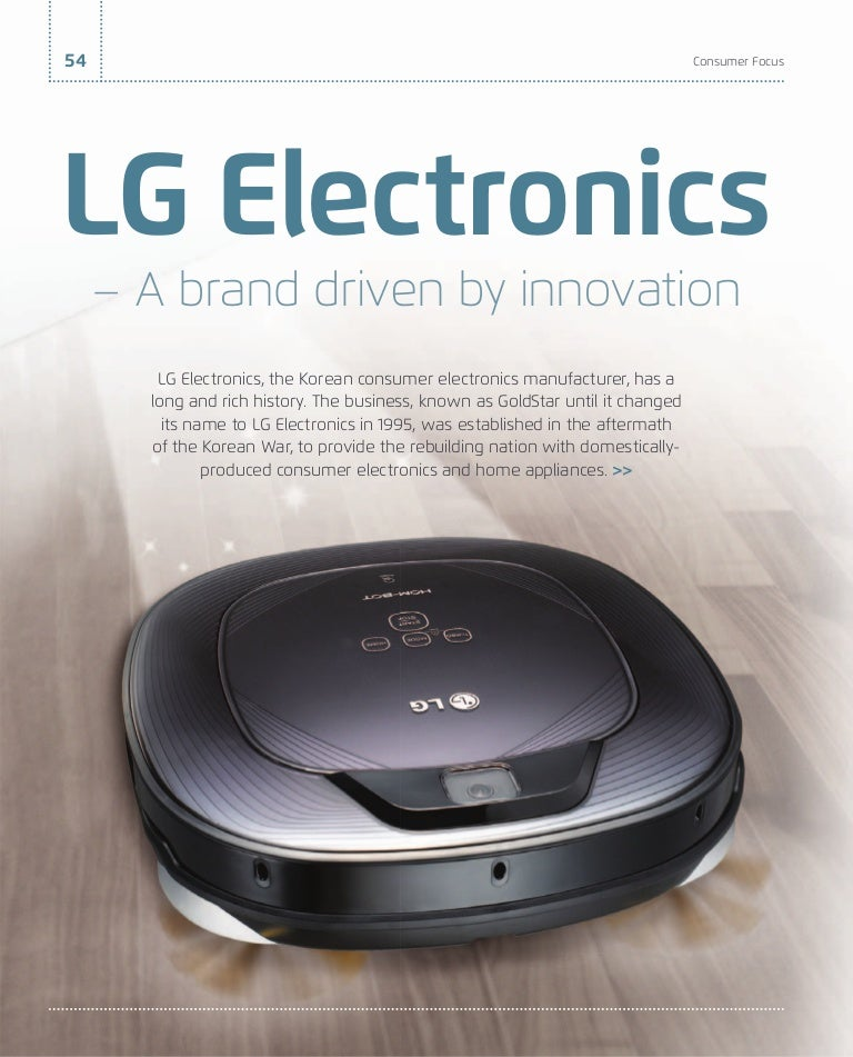 LG Electronics – A brand driven by innovation