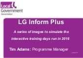 LG Inform Plus Learning Day Training Session