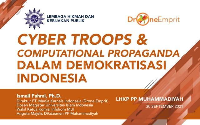 Cyber Troops & Computational Propaganda dalam Demokratisasi Indonesia