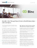 Binc Cuts Through Noise Online to Build Relationships with Candidates | Case Study