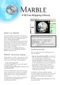 Marble Virtual Globe for Developers - Factsheet