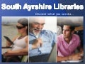 South Ayrshire Libraries: Explore our Services