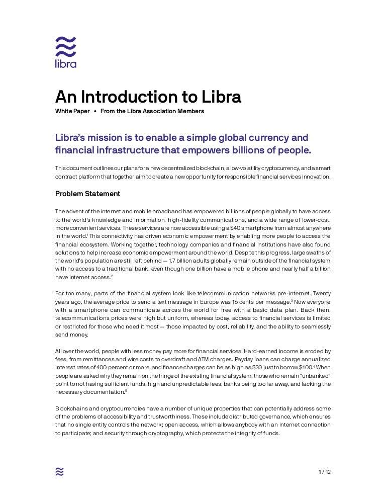 LIBRA WHITEPAPER (ENGLISH)
