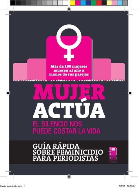 Libreta feminicidio