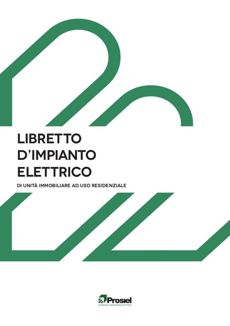 Schema Elettrico Gruppo Di Continuità Per Pc : Il libretto d impianto elettrico