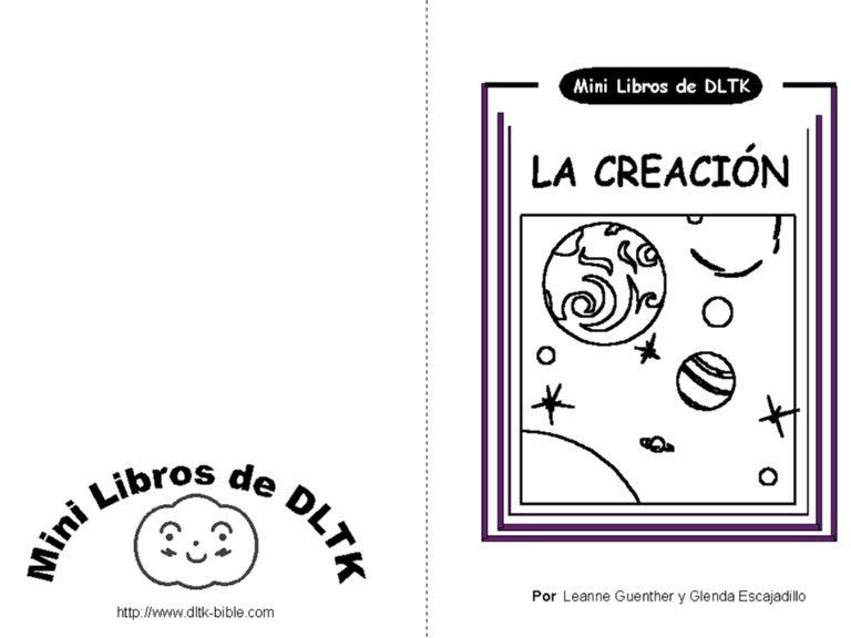 Libro De La CreacióN Para Colorear