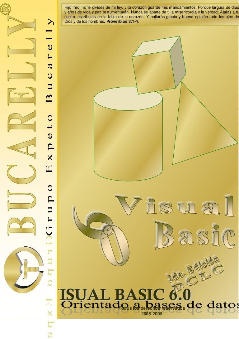 libro de oro de visual basic 6 0