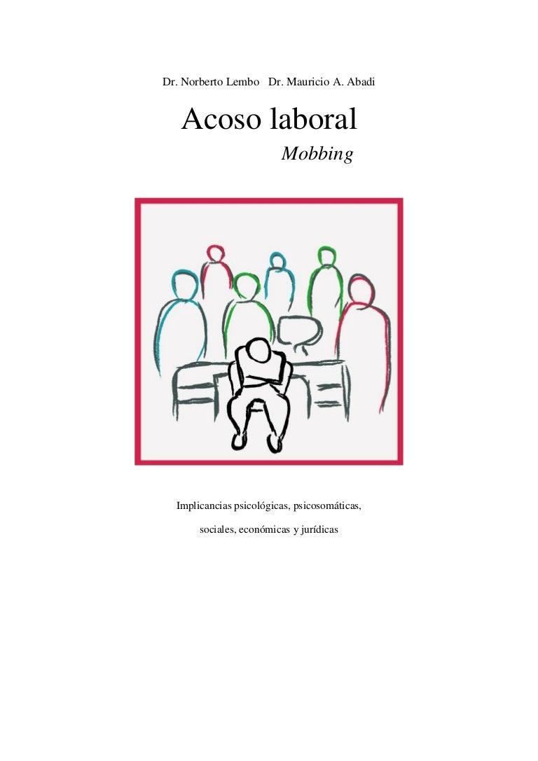 Libro acoso laboral mobbing