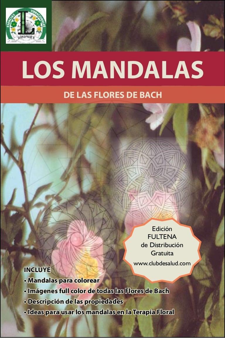 Libro De Los Mandalas De Las Flores De Bach