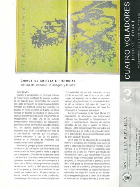 Libros de artistas