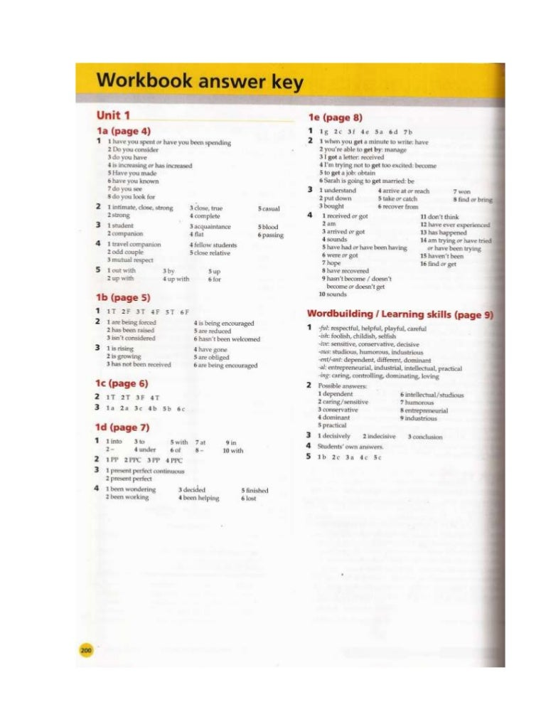 unit 3 workbook assignment Unit 1 workbook assignment project one - free download as word doc (doc), pdf file (pdf), text file (txt) or read online for free.