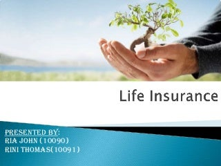 Life insurance ppt