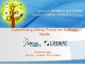 Liferay Portal Customizing to Business Needs