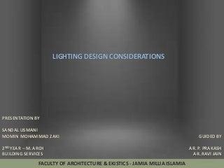 Lighting Design  LinkedIn