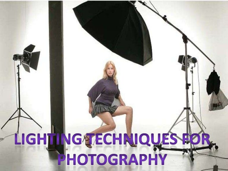 Lighting techniques for photography