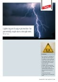 Lightning and Surge Protection for Potentially Explosive Atmospheres