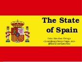 Lightning talk: The State of Spain