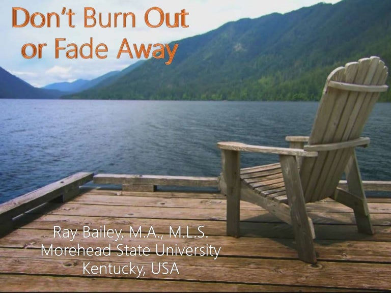 Thumbnail for Don't burn out or fade away: coping with the stressors of library ins…