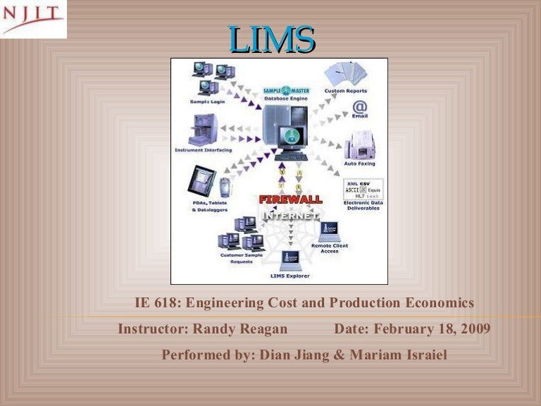 Laboratory Information Management System Lims