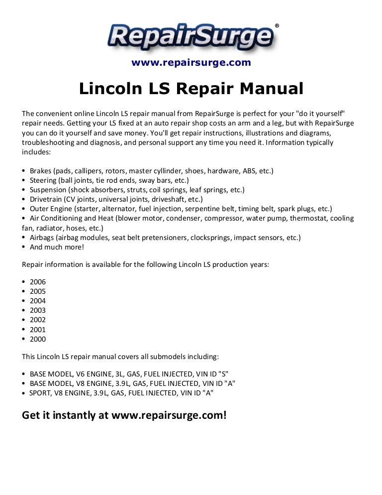 03 Lincoln Ls Engine Diagram Wiring Diagram Center Mug Minor Mug Minor Tatikids It