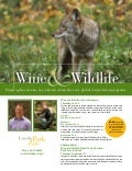 Wine & Wildlife event flyer | Lincoln Park Zoo Chicago | June 2, 2011