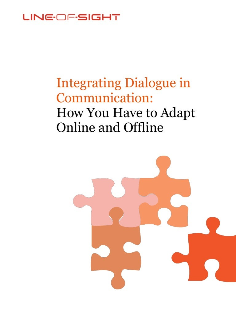 Line of-sight white paper - integrating dialogue in