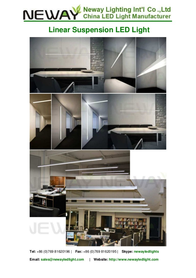 Linear Ceiling Lights Led Hanging Linear Lighting Up And Down Linea - Led light bar for kitchen ceiling