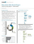 LinkedIn 2011Recruitment Benchmark Report - United States