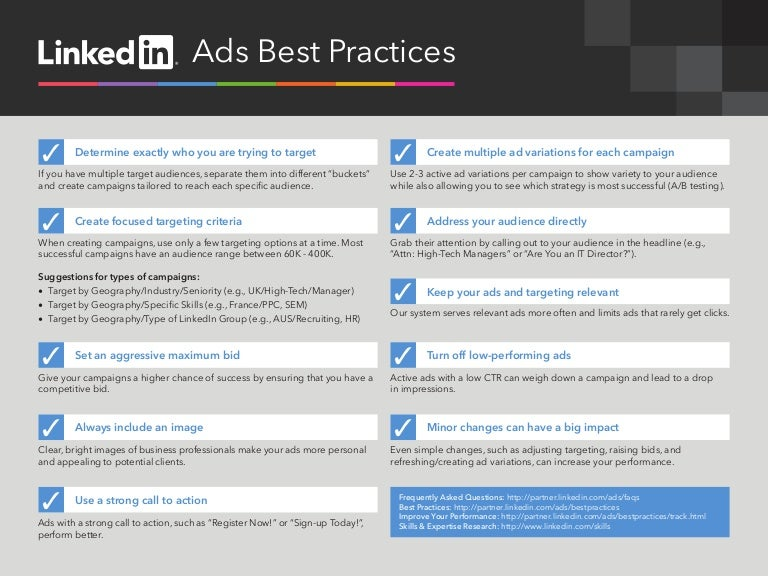 LinkedIn Ads Best Practices