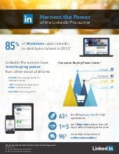 LinkedIn B2C UK Research INFOGRAPHIC