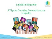 4 #Tips for Connecting on LinkedIn