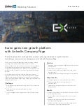 Eurex Case Study: Gaining New Growth Platform with LinkedIn Company Page