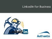 Prospecting With LinkedIn