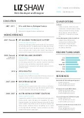 ux designer and front end engineer cv resume - Ux Designer Resume